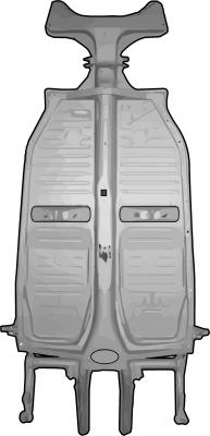 Fahrgestell-Bodenbleche