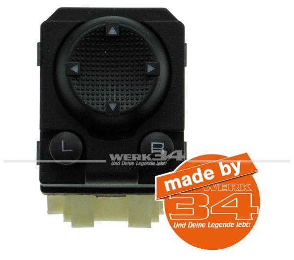 Schalter für elektrische Spiegel, passend für Golf III / Vento / Polo / Sharan