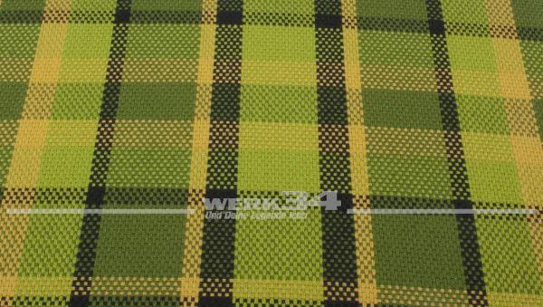 Westfalia Bezugsstoff in grün | gelb | schwarz, Grundpreis: 35 EUR pro m2