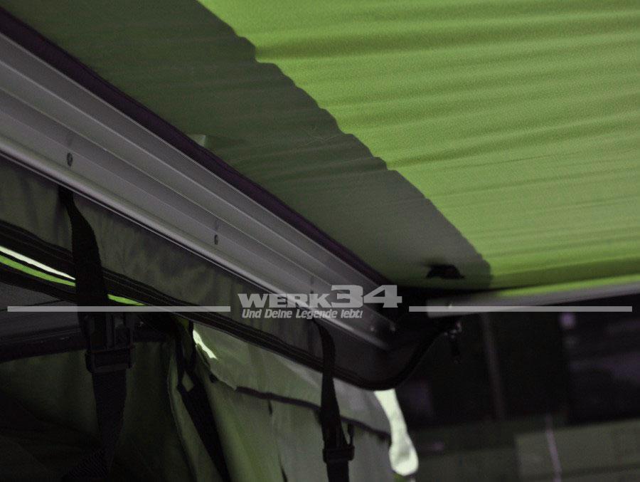 markise 250 cm breit gr n zubeh r camping und wohnmobil bus t4 wassergek hlt werk34. Black Bedroom Furniture Sets. Home Design Ideas