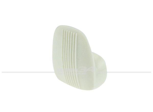 Mantelhaken aus Kunststoff, weiß, passend für Modelle bis 07/67 Käfer,Innenausstattung