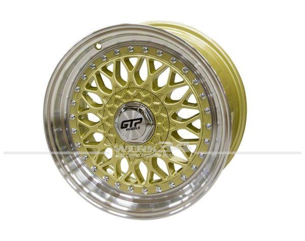 Satz GTP 040 Felgen 7,5X16 ET35 gold