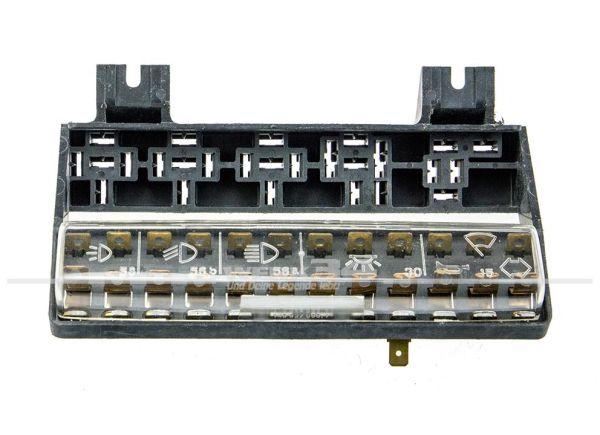 12-fach Sicherungskasten mit Deckel, passend für Typ 3/34 (08/70 bis 07/71)