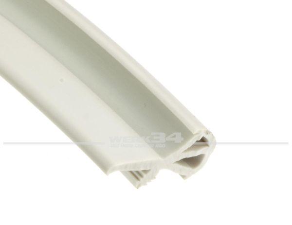 Türfüllprofil, lichtgrau, Preis pro Meter
