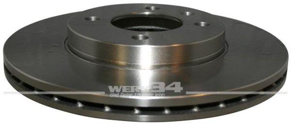 Bremsscheibe, vorn innenbelüftet, 256x20mm, 4-Loch