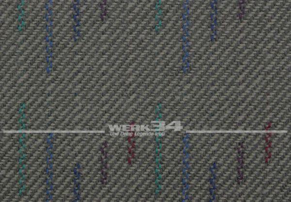 Bezugsstoff Mikado grau, verbaut z.B. bei VW Bus T4, Grundpreis: 49,28 EUR pro m2