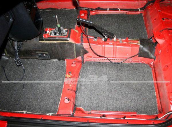 """Dämmung unter Teppich Corrado """"4-tlg. Standard Version"""""""