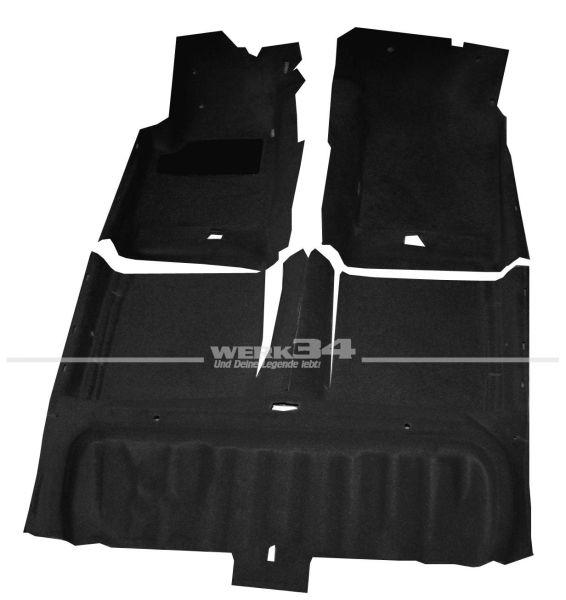 Form-Teppichsatz schwarz, Corrado