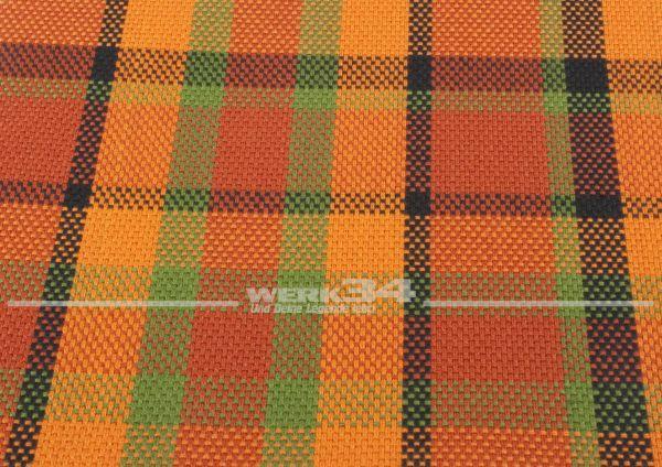 Westfalia Bezugsstoff in orange | rot I grün I schwarz, Grundpreis: 35 EUR pro m2