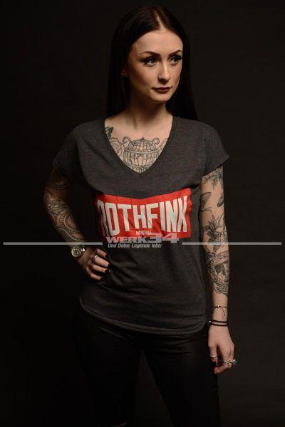 Rothfink Stacious D T-Shirt grau, Damen L
