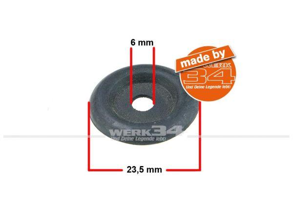 Durchführung / Gummi 23,5mm / 6mm