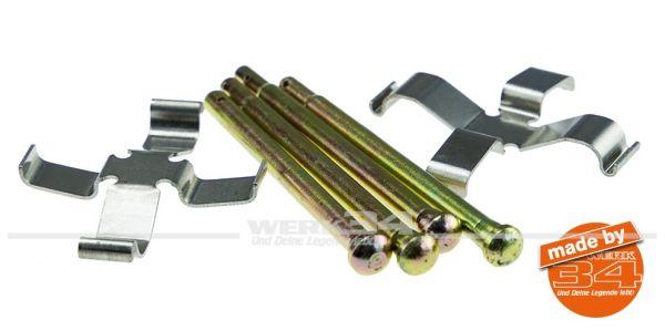 Anbausatz Bremsbeläge, vorn, für ATE Sattel für innenbelüftete Scheibe