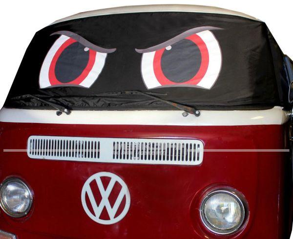 """Fahrerhaus Sonnenschutz """"Angry Eyes"""", passend für Bus T2"""