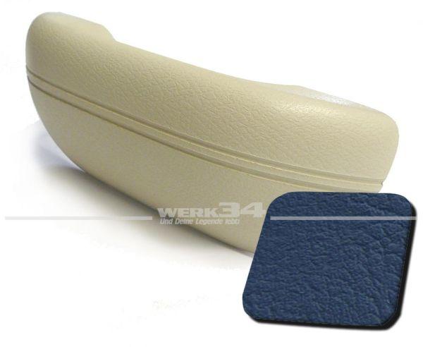 Armlehne blau, passend für alle Modelle von 08/67-07/72 und 1302