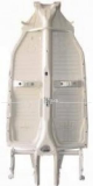 Fahrgestell für Käfer mit kurzem Vorderwagen und Pendelachse, passend für Modelle ab 08/72, original