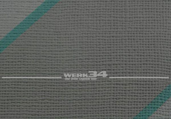 Kunstleder grau, Diagonalstreifen, verbaut z.B. bei VW Bus T4, Grundpreis: 35 EUR pro m2