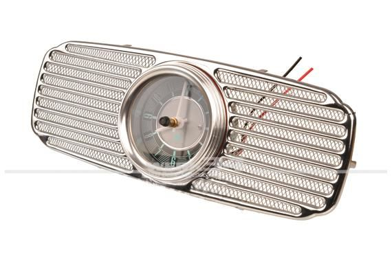 Lautsprecherabdeckung, mit Uhr, 52-57