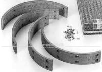 Satz Bremsbeläge vorn 50 mm breit zum Aufnieten, passend für Modelle bis 07/63