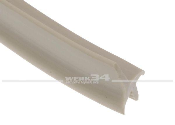 K-Kantenprofil, für 16mm Plattenstärke, hellgrau, Preis pro Meter
