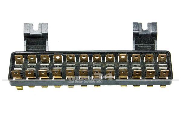 12-fach Sicherungskasten, passend für Typ 3/34 (08/66 bis 07/67)