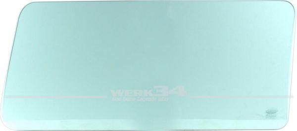 Seitenscheibe T3 hinten, feststehend, grün getönt, links/rechts, 05/79-07/92