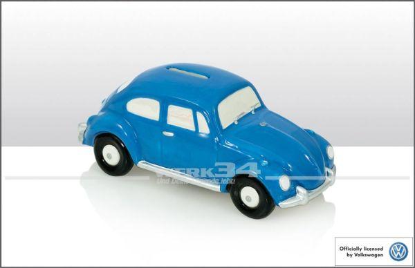 Käfer Spardose, blau