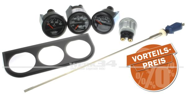 Werk34 Instrumenten-Set 1 für luftgekühlte Boxermotoren