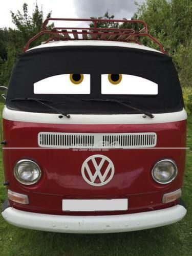 """Fahrerhaus Sonnenschutz """"Sleepy Eyes"""", passend für Bus T2"""