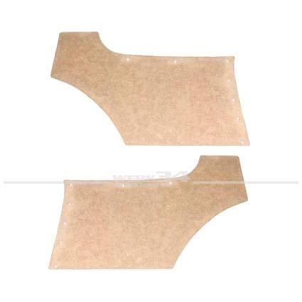 Paar Seitenverkleidungsrohlinge zum Beziehen, passend für Coupe hinten