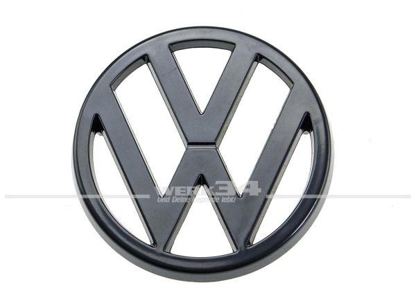 Marken-Emblem im Kühlergrill, schwarz