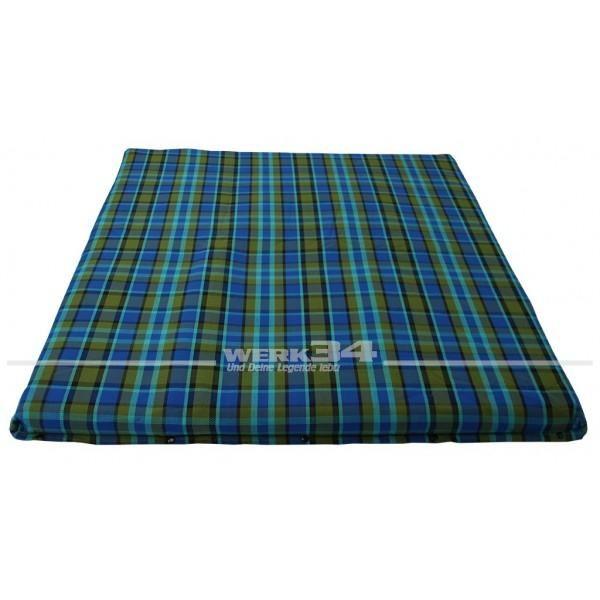 Bezug für Matratze im Schlafdach, groß, blau, passend für Westfalia T2B