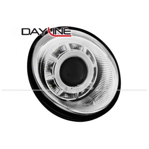 Dayline Scheinwerfer für Lupo in chrom