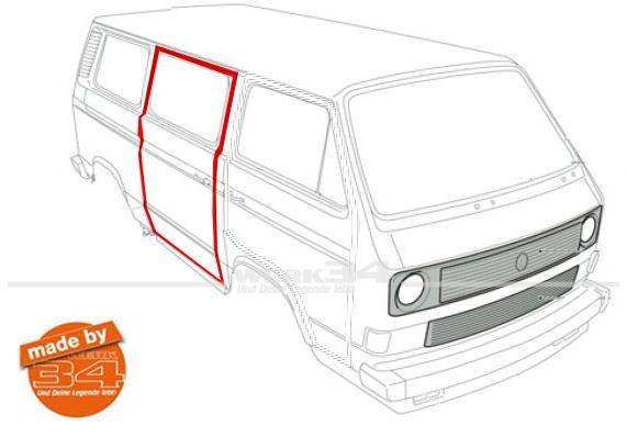 Gut bekannt Schiebetürdichtung rechts, passend für alle Bus T3 | Schiebetür OA46
