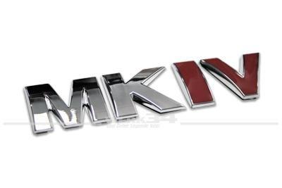 """Schriftzug """"MK IV"""" US-Version"""
