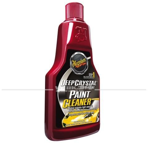 Meguiars Lackreiniger Step 1 Deep Crystal Paint Cleaner (473ml), Grundpreis pro Liter: 35,73 Euro