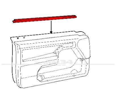 Außenschachtdichtung für vorne, links, passend für Golf III + IV Cabrio