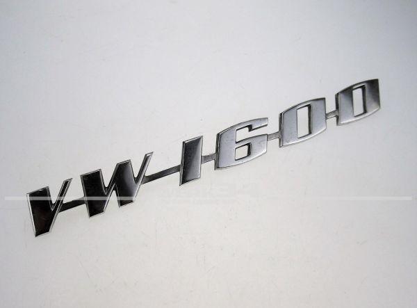 "Schriftzug ""VW 1600"", Typ 3 & Karmann Ghia Typ 34"