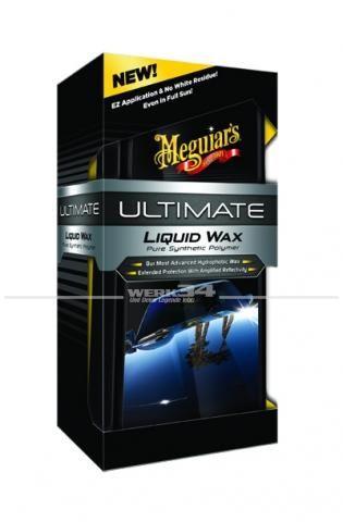 Meguiars Lackpflege Flüssigwachs Wachs Ultimate Liquid Wax (473ml), Grundpreis pro Liter: 105,50 Euro
