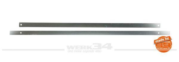 Stoßleisten für Metall-Stoßstangen, verchromt, für vorn und hinten, passend für Golf I