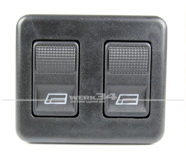 Schalter für Fensterheber, Fahrerseite,passend für Golf II Syncro, Rallye und LT
