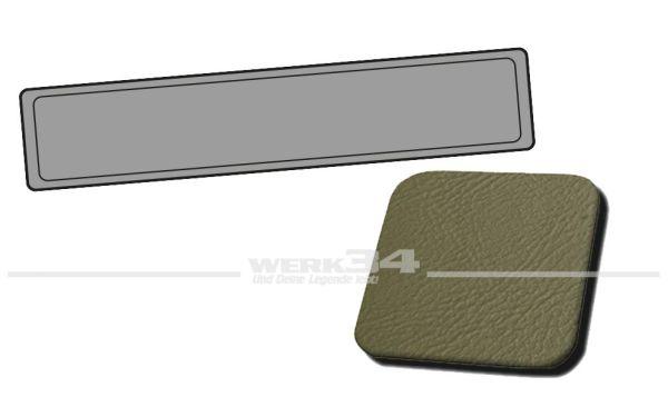 Verkleidung Heckklappe grau, passend für Typ 3 Variant, Bj. 1962-67