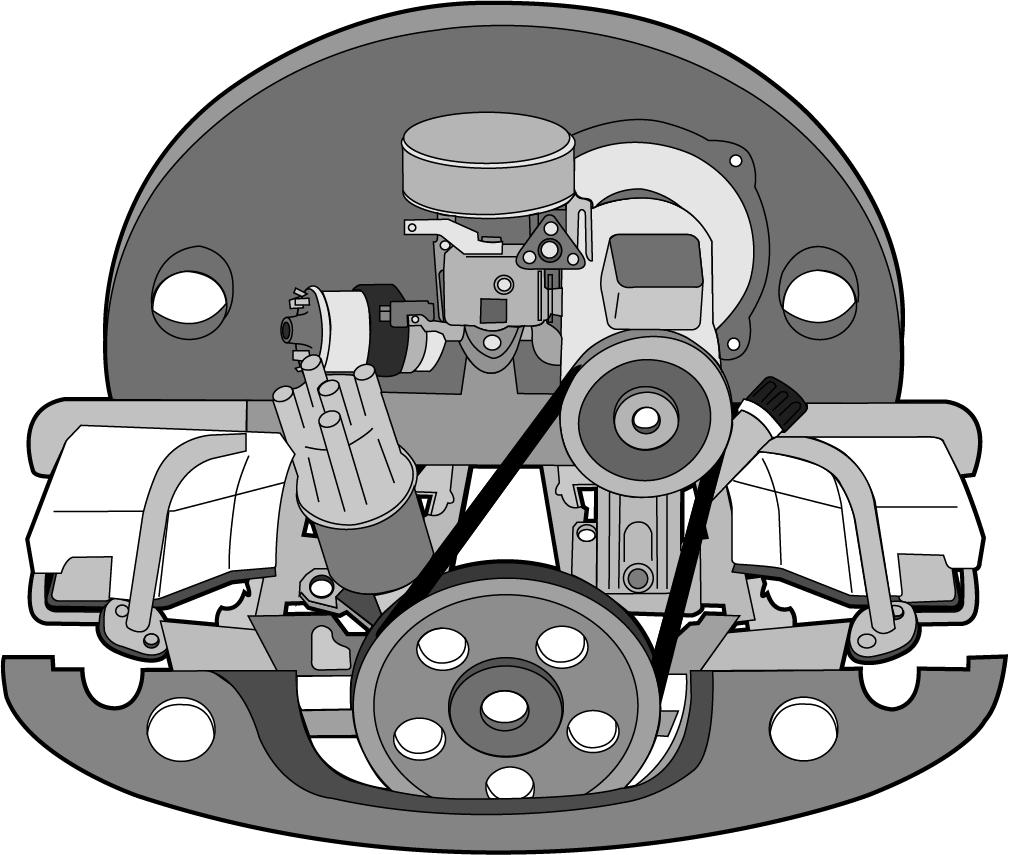 Ölpeilstab Chrom VW Käfer Bus Typ1 Typ3 t2a t2b Karmann-Ghia Neu