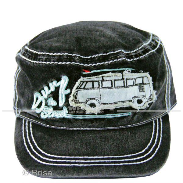 """VW Bulli Cap """"Military Schwarz"""""""