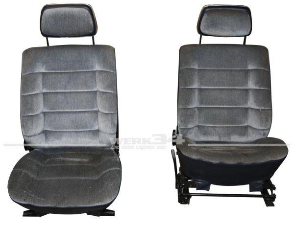 Paar hintere Carat Sitze, gebraucht
