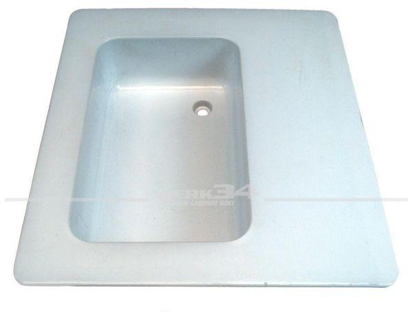 Spülbecken, Kunststoff, weiß, passend für Westfalia T2A