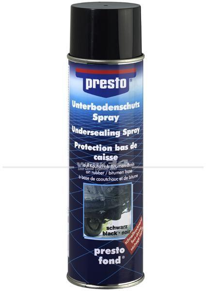PRESTO Bitumen Unterbodenschutz, schwarz, 500ml, Grundpreis pro Liter 17,80 EUR