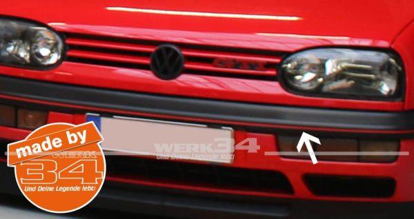 Zierstreifensatz rot, Golf III 20 Jahre GTI Edition
