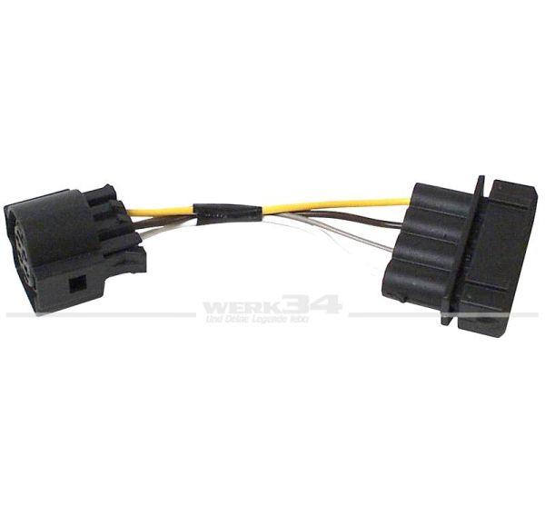 Adapter für Scheinwerfer, rund auf eckig z.B. Golf III