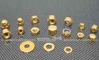 Hutmutter V2A gold M8