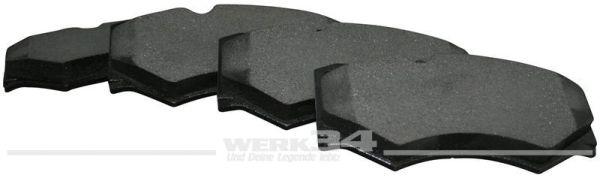 Bremsbeläge, vorn, 18 mm, LT 4x4